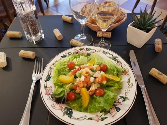 Salade Aux Queues D'Écrevisses